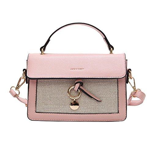Fácil Gules Pink Taleguilla Moda Simple De Las Del De Bolso Bolso Mujeres Y Bolso GWQGZ g71qO7