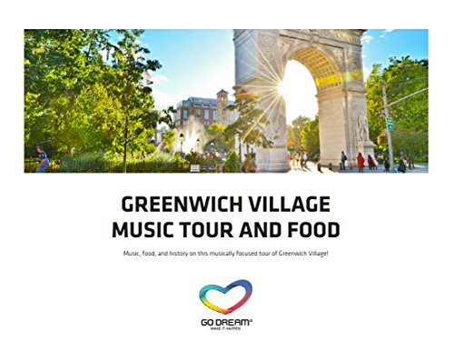Greenwich Village Music Tour & Food in New York Experience Gift Card NYC - GO DREAM - Sent in a Gift - In Stores Popular Nyc