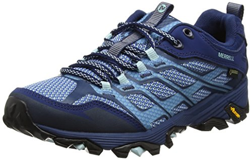 Senderismo Fst Para Azul Gtx poseidon Zapatillas De Mujer Moab Merrell qXn5pwPp4
