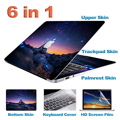 zwish-stars-and-mountains-6-in-1-removable-ultra-thin-full-body-vinyl-art-skins-decal-sticker-for-ma