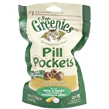 GREENIES Pill Pockets Treats for Cats, Chicken, 45 Count