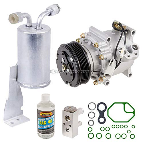 AC Compressor w/A/C Repair Kit For Chrysler Cirrus Sebring & Dodge Stratus - BuyAutoParts 60-80165RK New Chrysler Cirrus A/c Compressor