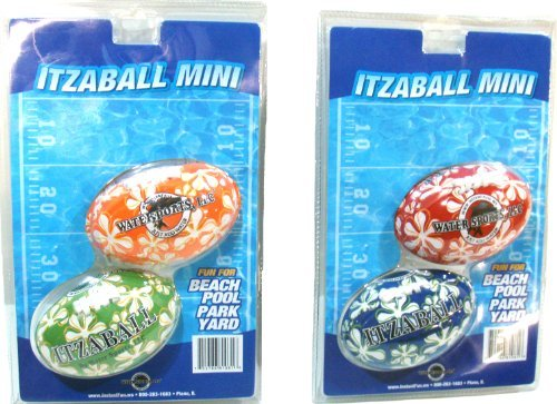 Water Sports Itza Mini 4-Inch Football (colors may vary) by Water Sports