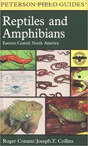 Book A Field Guide to Reptiles & Amphibians of Eastern & Central North America (Peterson Field Guide Series)