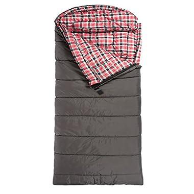 TETON Sports Celsius XXL -18C/0F   Sleeping Bag, Grey, Left Zip