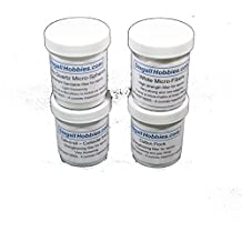 Epoxy Filler Sampler Kit - 4 Ounce Containers