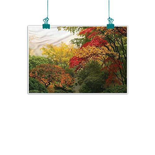 (Anzhutwelve Garden,Wall Art Pictures Frameless W 36