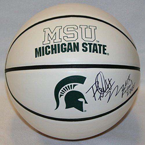 Branden-Dawson-Michigan-State-Spartans-NCAA-Autographed-Basketball-w-Inscription