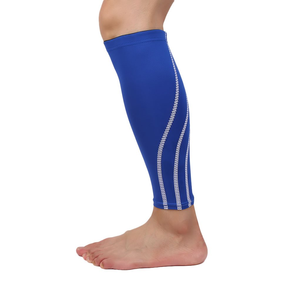 Forfar Lower Leg Brace Calf Protectors Compression Legging Pain Relief Leg Protector Support Compression Basketball Foot