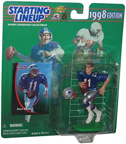 1999//2000 Starting Lineup Drew Bledsoe New England Patriots