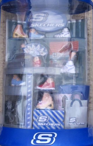 Barbie My Scene Mall Maniacs Sketchers Shoe Store Playset - Fashion Mall Stores