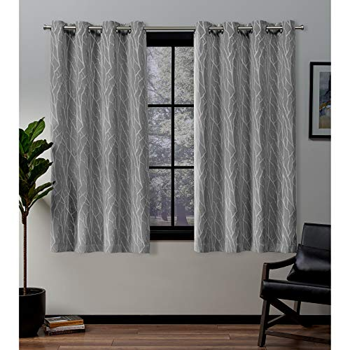 Exclusive Home Curtains Forest Hill Panel Pair, 52 x 63