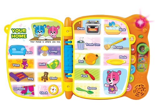51LVHuOGxvL - VTech Touch & Teach Word Book (Frustration Free Packaging)