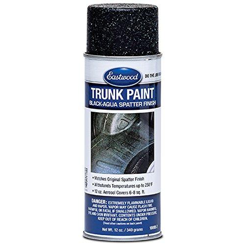 Eastwood Acrylic Trunk Paint Black Aqua Lacquer Paint Aerosol 12 oz
