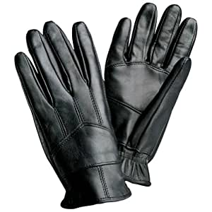 Giovanni Navarre Solid Genuine Leather Driving Gloves- L