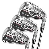 TaylorMade Golf MCGB Men's Steel Regular Flex 5-PW AW SW Iron Set, Right Hand