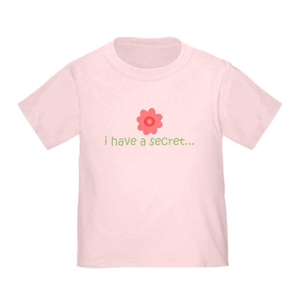 CafePress i Have a Secret Big Sister Toddler Toddler Tshirt
