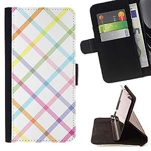 Momo Phone Case / Flip Funda de Cuero Case Cover - Blanc Lessive - Sony Xperia Z3 Compact
