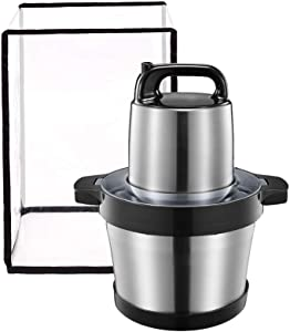 Qchengsan Clear Blender Cover Stain Resistant Kitchen Mixer Protector PVC Dust-Proof Appliance Machine Cover (24x24x34cm)