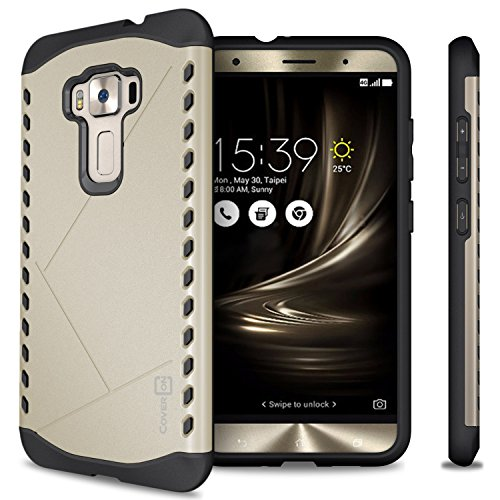 Slim Armor Case For Asus Zenfone 3 Max (Gold) - 8