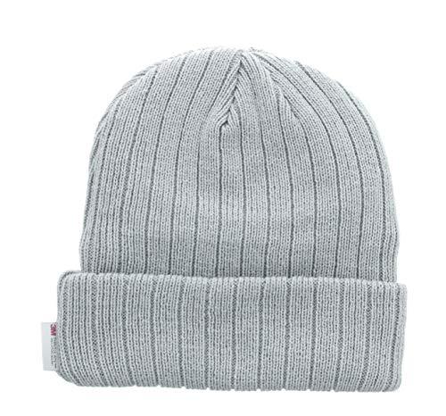 Milani Thinsulate 40 Gram Windchill Insulated Winter Cold Weather Beanie Skull Cap (Light Grey)
