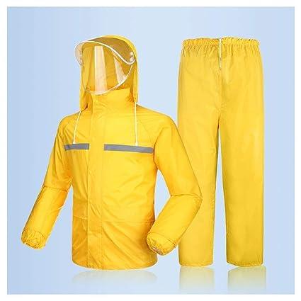 Amazon.com: LEOO - Chaqueta impermeable con capucha para ...