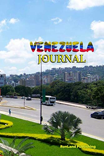 Journal: Venezuela 100 page lined ruled notebook...