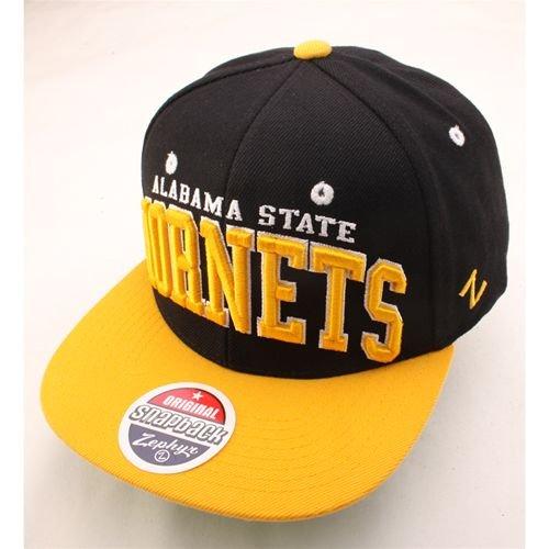 NCAA Alabama State Hornets Super Star Snapback Cap, (Hornets Snap)