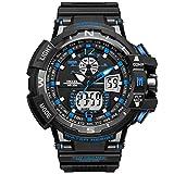 Fashion Men Analog Digital Luxury Sports Watches LED Men's Army Military Watch Man Quartz Boys Wristwatch