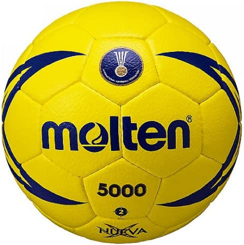 Actvivid Traditional Laminated Soccer Ball Yellow with Blue Mosaic Size 5