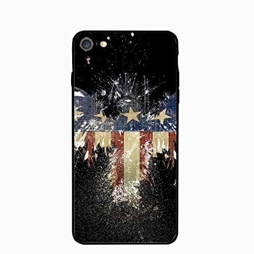 iPhone 6/6S Case Slim-Fit Anti-Scratch Shock Proof Print TPU Case for iPhone 6/6S (4.7 inch) - Eagle-Flag America ()