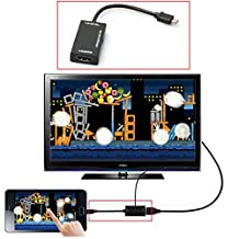SOUFUN 1PC Mini Micro USB 2.0 MHL To HDMI Cable HD 1080P Converter Adapter Cable For Android