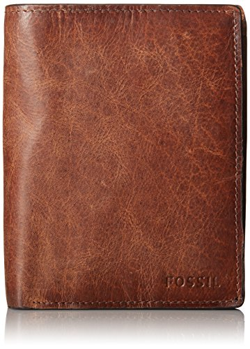 Fossil Men's International Combination Wallet, Brown, One Size