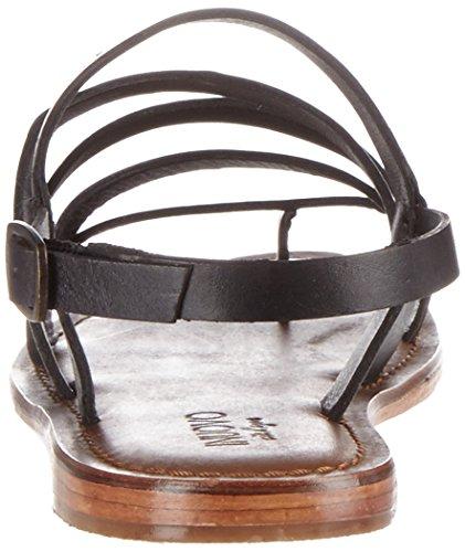 Inuovo 7715 - Tira de tobillo Mujer Schwarz (Black)