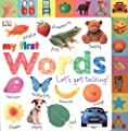 Tabbed Board Books My First Words Lets Get Talking from DK Preschool