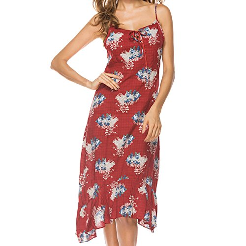Femmes Loisirs Sexy lgant Snior Simples Robes red