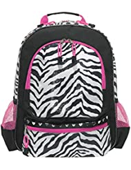 Back to School Zebra Sequin Backpack