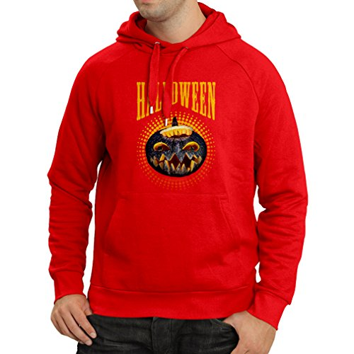Hoodie Halloween Pumpkin - Clever Party Costume Ideas 2017 (XX-Large Red Multi -