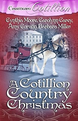 book cover of A Cotillion Country Christmas