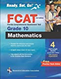 FCAT Mathematics, Grade 10, Research & Education Association Editors, 0738609730