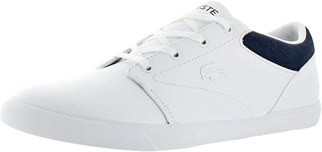 Lacoste Men's Minzah 318 1 P White/Navy