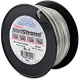 SuperSoftstrand Size 6-275-Feet Picture Wire Vinyl Coated Stranded Stainless Steel