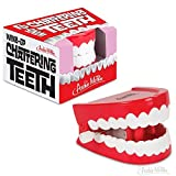Creepy Wind-Up Chattering Teeth Toy