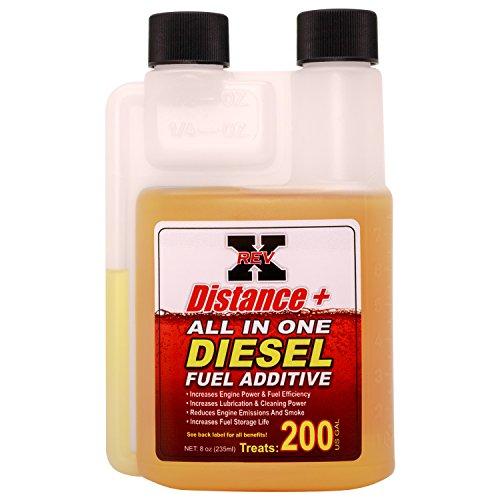 REV-X Distance + Diesel Fuel Additive – 8 oz. Treats 200 Gallons
