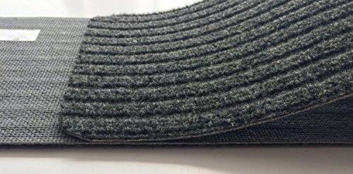 Stair Treads Collection Indoor Skid Slip Resistant Carpet Stair Tread Treads (Dark Grey, Set of 13 (8 in x 30 in)) by RugStylesOnline (Image #7)