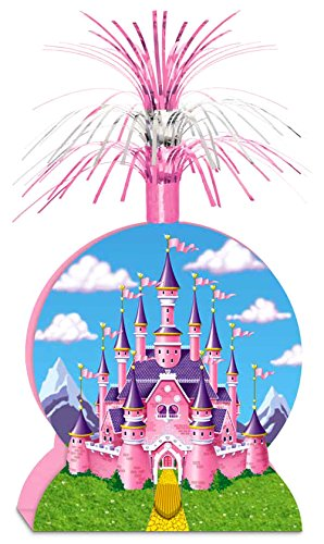 Princess Centerpiece Party Accessory (1 count) (1/Pkg) Castle Centerpiece