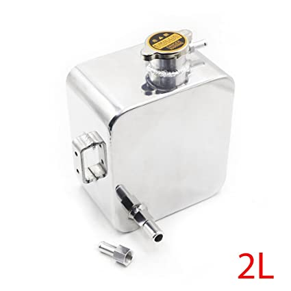 Amazon.com: Soosee 2L Litre Polished Alloy Header Expansion Water ...