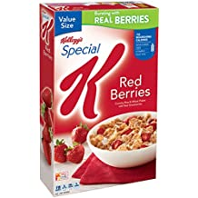 Kellogg's Special K Breakfast Cereal, Red Berries, 16.9 Ounce Box