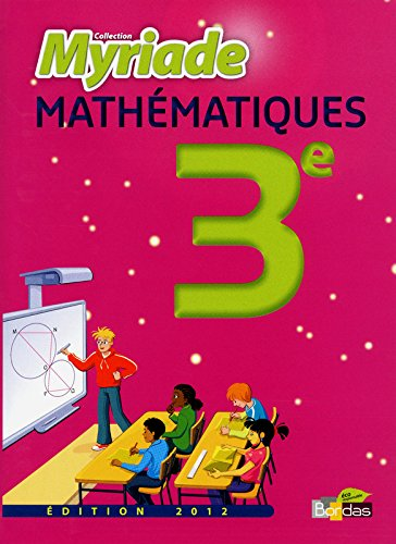 MATHS 3E MYRIADE MANUEL 2012