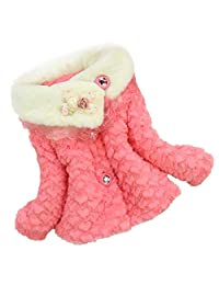changeshopping Toddler Girls Outwear Princess Winter Jacket Coat Snowsuit Clothing